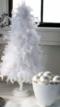 Can someone tell me where I can find this White Christmas Feather tree?