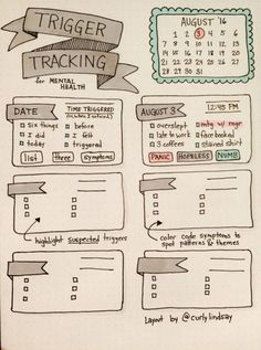 15 Creative Ways to Track Your Mental Health #MentalHealth #Journal