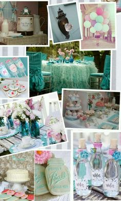 Trendy Baby Shower Ideas For Girs Decorations Food Shabby Chic Ideas Vintage Birthday Parties, Shabby Chic Birthday, Shabby Chic Baby Shower, First Birthday Parties, Birthday Party Decorations, First Birthdays, Christmas Decorations, Kylie Birthday, Birthday Week