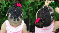 Different Hairstyles For Women Cute Toddler Hairstyles, Childrens Hairstyles, Girls Hairdos, Lil Girl Hairstyles, Princess Hairstyles, Girl Haircuts, Baby Hair Dos, Hair Dos For Kids, Violet Hair
