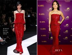 Zhang Ziyi In Armani Privé - 56th Asia-Pacific Film Festival Awards Ceremony 12/16/13