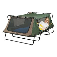 Cabela's Deluxe Tent Cots I think I need this