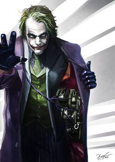 Bat Joker, Joker Clown, Heath Ledger Joker, Joker Pics, Joker Art, Joker And Harley Quinn, Joker Dark Knight, The Dark Knight Trilogy, Joker Dc Comics