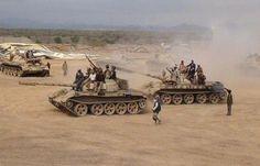 اخبار اليمن : وصول اللواء هيثم قاسم على رئيس قوات عسكرية بعد ان دفع الجنرال الأحمر بقواته الى وادي حضرموت