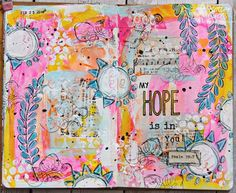 WOW Bible journaling page by Patter Cross