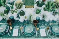 wedding inspiration by LB Events at wolf feather honey farm + the intrepid wild southern California bohemian wedding venue Decoration Cactus, Decoration Creche, Reception Decorations, Event Decor, Table Decorations, Centerpieces, Table Setting Inspiration, Wedding Inspiration, Wedding Ideas