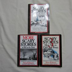 Lot of 3 Scary Stories To Tell In the Dark More Scary Stories More Tales 1 2 3
