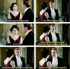 the most beautiful part of Downton Abbey season 2...oh matthew...