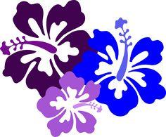Hawaiian Flower Clip Art | Hibiscus 23 clip art - vector clip art online, royalty free & public ...