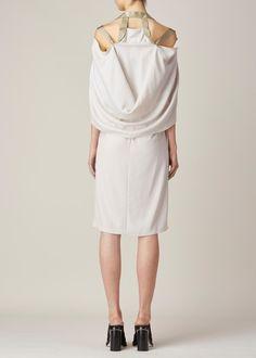 Maison Martin Margiela Sleeveless Tent Dress (Stone)