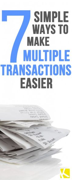 Hey Couponers! 7 Tips for Separating Your Transactions