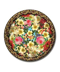 Take a look at this Garden Party Paper Plate - Set of 12 by Orange Circle Studio on #zulily today!