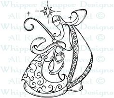 Blessed Birth - Christmas Images - Christmas - Rubber Stamps - Shop
