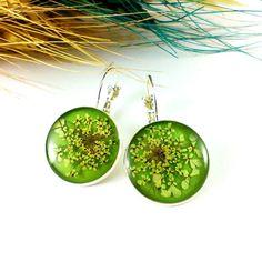 #Lime #earrings Lime #green earrings Green #yellow earring by Galiga