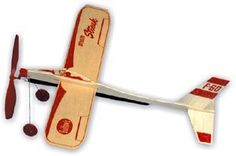 Strato Streak Rubber Band Powered Glider found at Norton's U. Craft Activities For Kids, Crafts For Kids, Arts And Crafts, Wooden Airplane, All Valentine Day, Model Building Kits, Paper Plane, Poly Bags, Adult Crafts