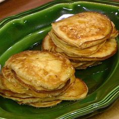 Bruce Paltrow's World-Famous Pancakes  Gwyneth Paltrow grew up with these pancakes. They were a favorite of hers and her friends. Try them this weekend and see what all the fuss is about.