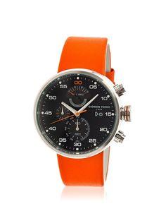 Giorgio Fedon 1919 Men's GFBI002 Speed Timer IV Orange/Black Leather Watch, http://www.myhabit.com/redirect/ref=qd_sw_dp_pi_li?url=http%3A%2F%2Fwww.myhabit.com%2Fdp%2FB00LLM90LQ%3F