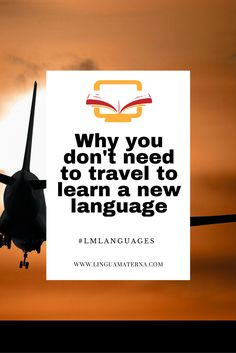Travel is fun, but it's not necessary in order to learn a language. Click through to read more >>