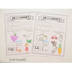 Alphabet Worksheets by Heidi Dickey Counting Activities, Activities For Kids, Primary Classroom, Classroom Ideas, Page Protectors, Tracing Letters, Alphabet Worksheets, Morning Work, Winter Theme