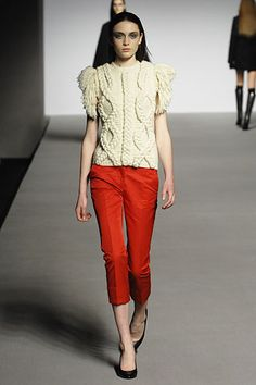 Amazing cable-knit sweater.