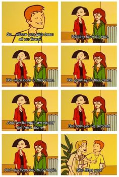 Haha! Awesome response to the most common and lamest of pick up lines! -Daria loved her!