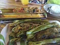 Pepes patin bambu Mujair woku woka  @pondokbamburesto Jl. Mt. Haryono (smpg jl agung tunggal) Balikpapan