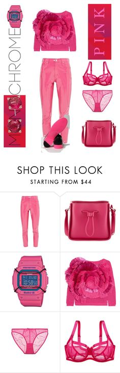 """Think Pink!"" by anet-ko on Polyvore featuring Topshop, 3.1 Phillip Lim, Casio, Delpozo, Miss Mandalay and Vera Bradley"