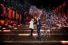 wedding at Lincoln Center - engagement celebration!
