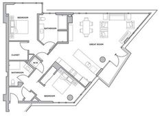 Floor Plans and Pricing for Luxury Rental Building 38 Dolores - Mindboggling Reveals - Curbed SF