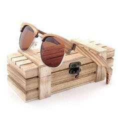 c8675601b1 fashionfromnature.com Hollywood Zebra Wooden Sunglasses - Polarized (7  variants) Mens Glasses