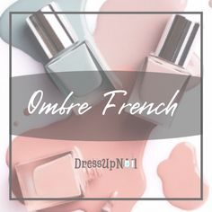 Ombre french nail manicure gel Kids Manicure, Short Nail Manicure, Black Manicure, Glitter Manicure, Uv Gel Nails, Gel Manicure, Stiletto Nails, Gradient Nails, Ombre French Nails