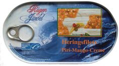 Chilihead Icewolf77: Rügen Juwel - Heringsfilets in Piri-Mango-Creme