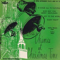 "Godfrey Malcolm - Chimes At Christmas Time (7"") Silent Night / O Come All Ye Faithful/ Joy To The World / God Rest You, Merry Gentlemen"