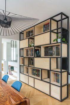 Creative Design Ideas For Your Bookshelves Home SNS Creative Bookshelves, Bookshelf Design, Wall Shelves Design, Bookshelf Ideas, Bookshelf Styling, Book Shelves, Storage Shelves, Open Shelving, Home Decor Furniture