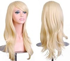 Cheap hair fairy lace wigs, Buy Quality wig curl directly from China wig hair color chart Suppliers: Stylish Curly Hair pad Light Blonde wig Cospaly Young long Synthetic Hair Perruque peluca feminina peruca Lolita Beauté Blonde, Blonde With Pink, Brown To Blonde, Light Blonde, Blonde Beauty, Blonde Color, Platinum Blonde, Hatsune Miku, Party Hairstyles