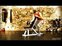 Video voor multifunctionele fitnessbank  #fitnessbank #halterbank