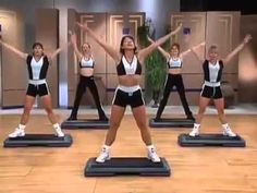 Christi Taylor Stepping Zone - FULL WORKOUT - YouTube
