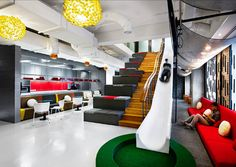 25 Creative Office Spaces Around The World #Inspirations #Creativity #Design
