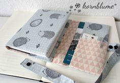Organizer, Notebook, Bullet Journal, Organization, Pouches, Journals, Bags, Book Jacket, Fabric Purses