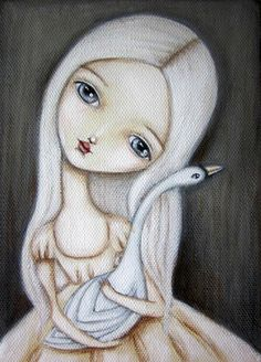 "Lauren Saxton, ""The Swan"""