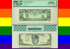 $50 PCGS 65 Inverted Overprint on BACK! MAJOR Fifty Dollar ERROR **ULTRA RARE**   eBay