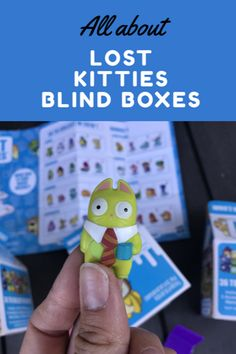 Lost Kitties Series 1 is available now! Collect all 36 Lost Kitties. Each Lost Kitties milk carton comes with one figurine, 2 accessories, shaping compound and Diy Projects For Kids, Crafts For Kids, Business For Kids, Some Fun, Cool Toys, Parenting Hacks, Blind, Little Ones, Activities For Kids