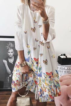 VITryst-Women Summer Leisure V-Neck Long Sleeve Tunic Playsuit Shorts Rompers