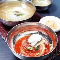 Hamheung Bibim Naengmyeon is refreshing and spicy at the same time! #Korea #Food