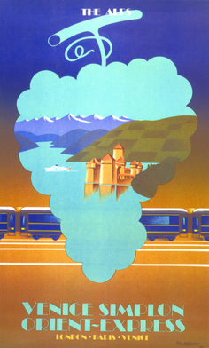 Journeys through Europe on the Venice Simplon-Orient-Express.