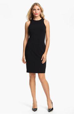 Wardrobe staple: the Little Black Dress Karen Kane Sleeveless Sheath Dress | Nordstrom