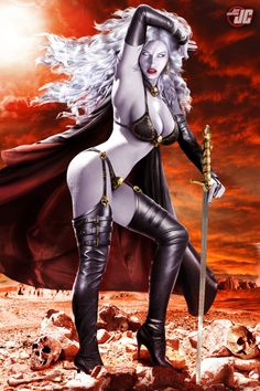 Lady Death by Jeffach.deviantart.com on @deviantART