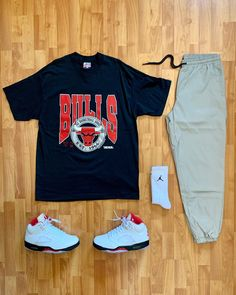 Jordan Outfits, Sport Outfits, Trendy Outfits, Hip Hop Fashion, Boy Fashion, Mens Fashion, Neon Bedroom, Dope Outfits For Guys, Hype Clothing