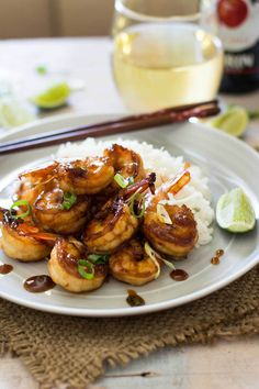 Teriyaki Grilled Prawns | Chopstick Chronicles