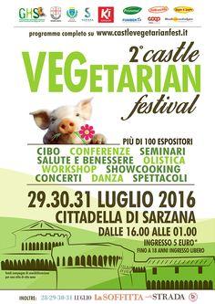 Workshop 2016 Castle Vegetarian Festival Sarzana